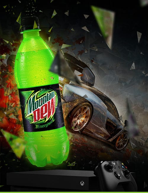 Mountain Dew – if you're game